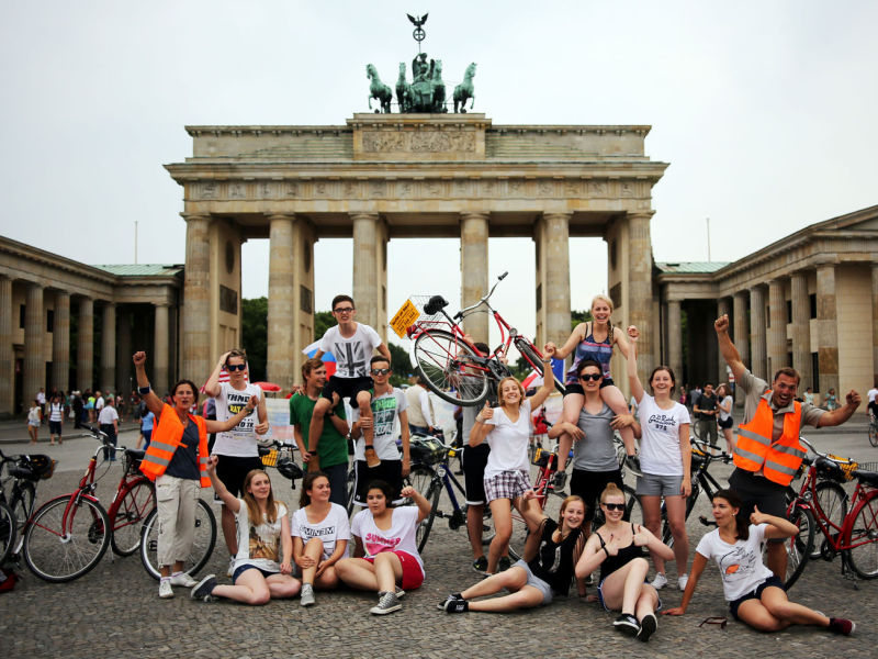 Берлин студенты