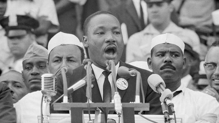 Мартин Лютер Кинг оратор