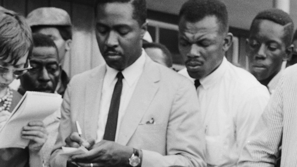 Мартин Лютер Кинг пастор Вернон Джонс