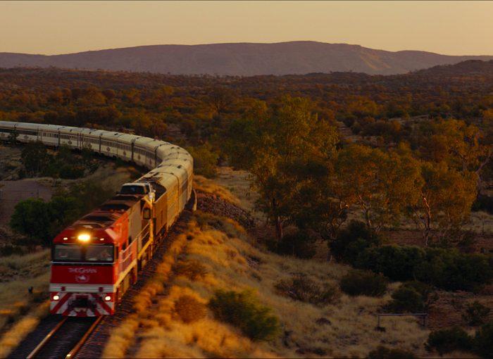 Австралия От Аделаиды до Брисбена на поезде Ган