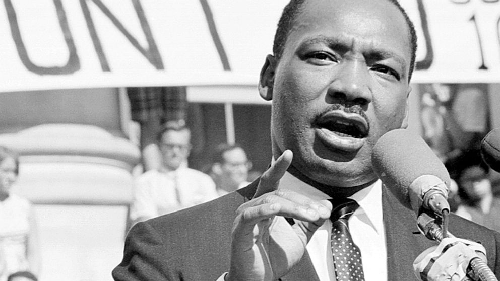 Мартин Лютер Кинг имя