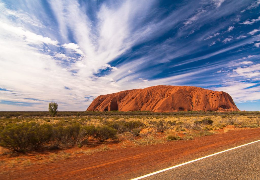 Австралия Национальные парки Улуру — Ката-Тьюта и Ватаррка