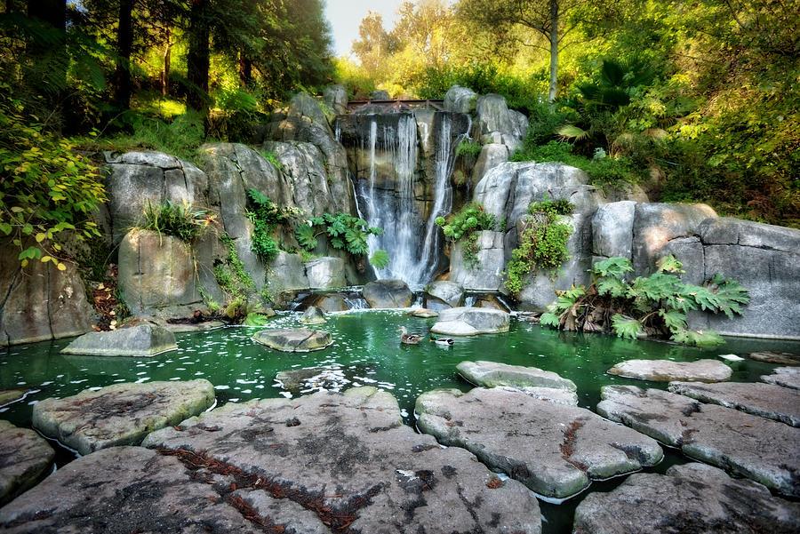 водопады парк Золотые Ворота