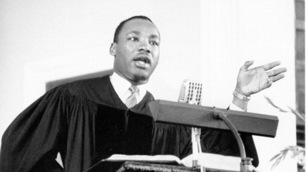 Мартин Лютер Кинг священник