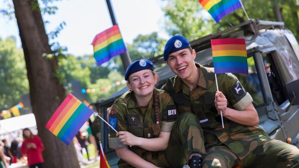 ЛГБТ и норвежские военные