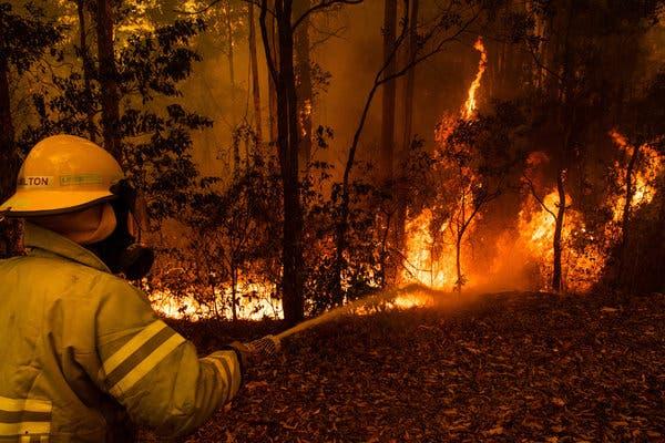 Сезон пожаров в Австралии становится все длиннее и опаснее