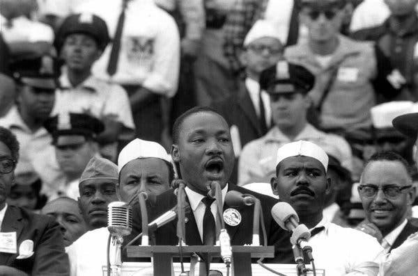 Мартин Лютер Кинг У меня есть мечта
