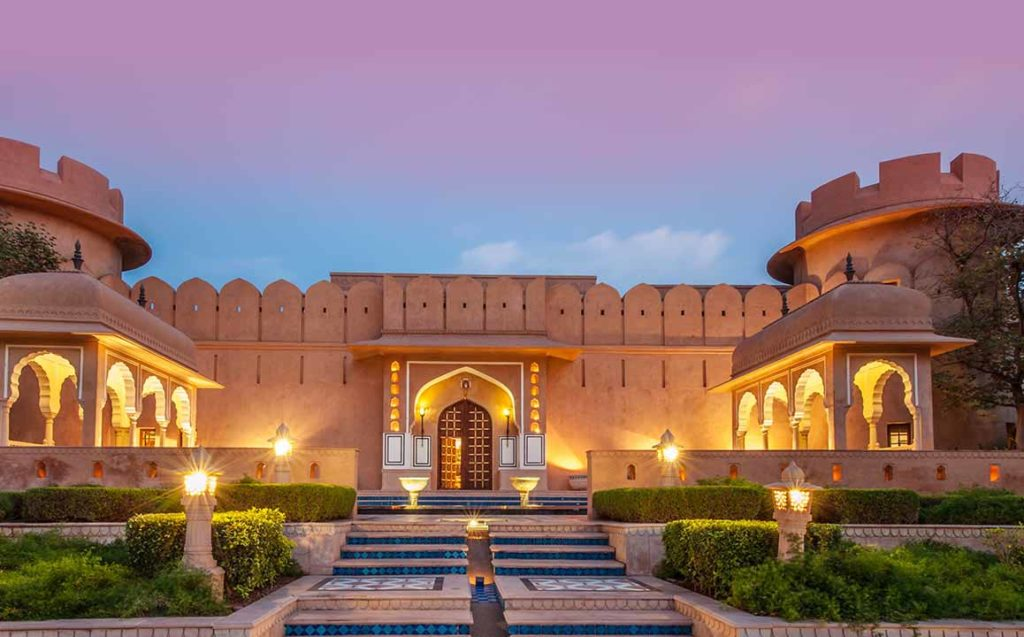 The Oberoi Rajvilas, Джайпур