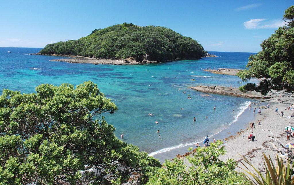 Козий остров Новая Зеландия