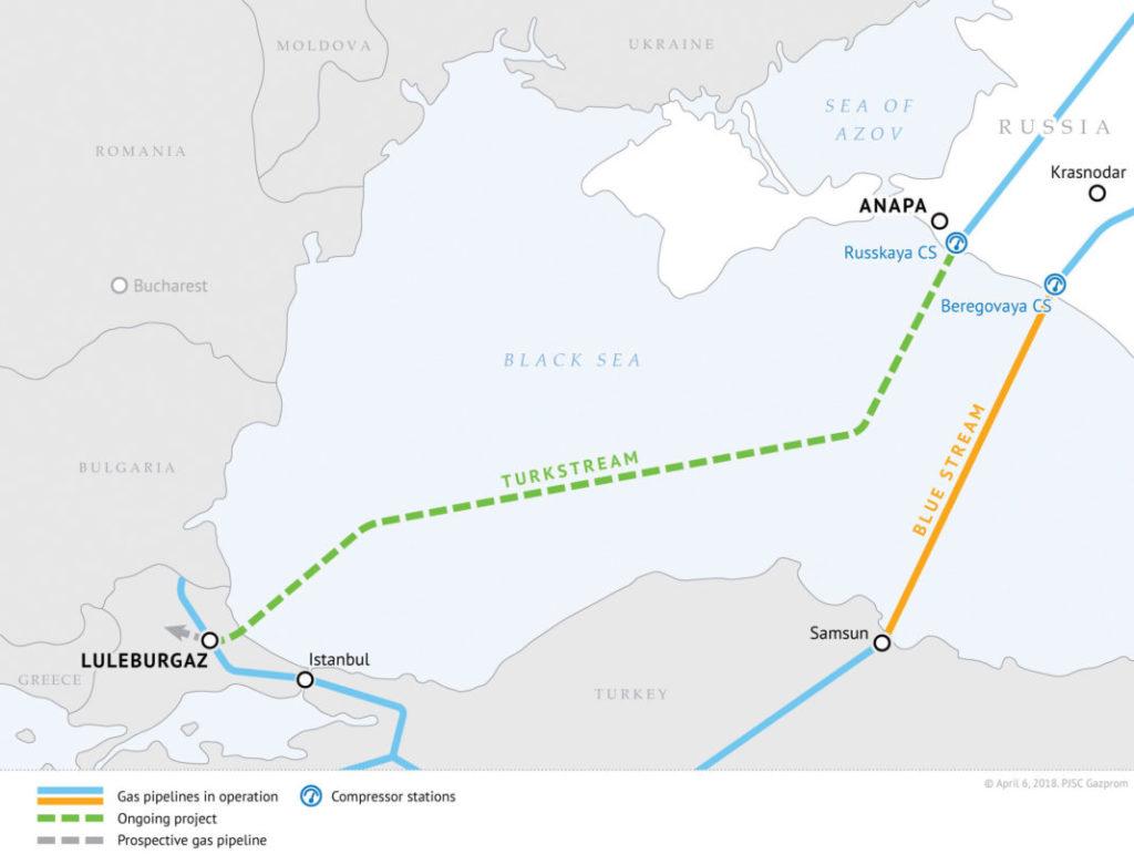 Путин и Эрдоган планируют открыть Турецкий поток 8 января 2020 года