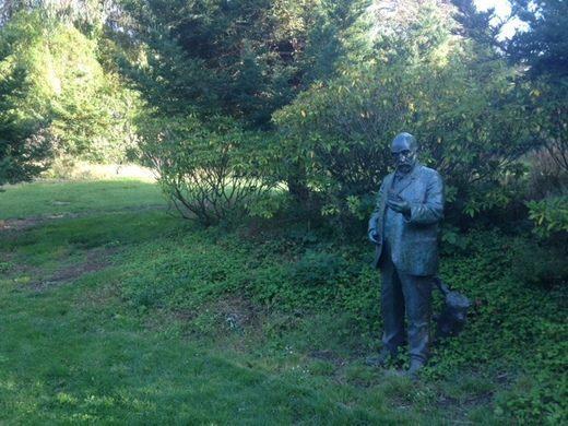 статуя Джона Макларена парк Золотые Ворота