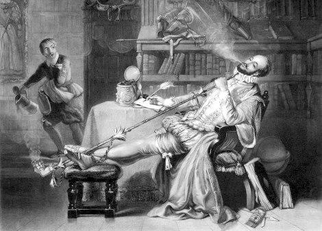 Запрет на курение в Англии рассматривался с 1604 по 2007 год