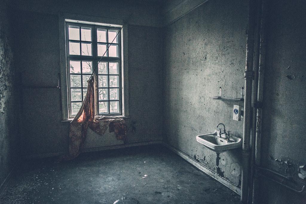 Заброшенная психиатрическая больница Бускеруда