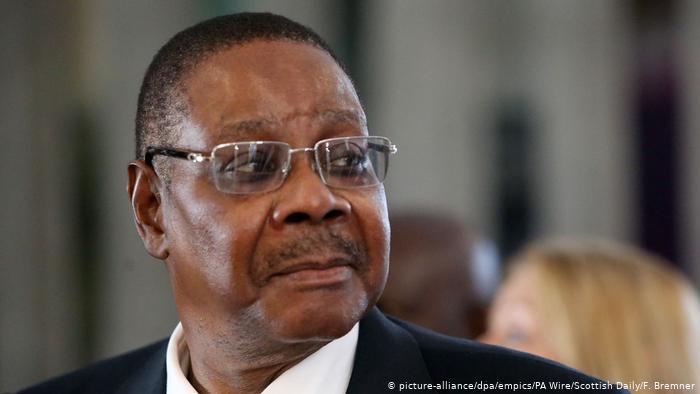 Президент Малави Питер Мутарика