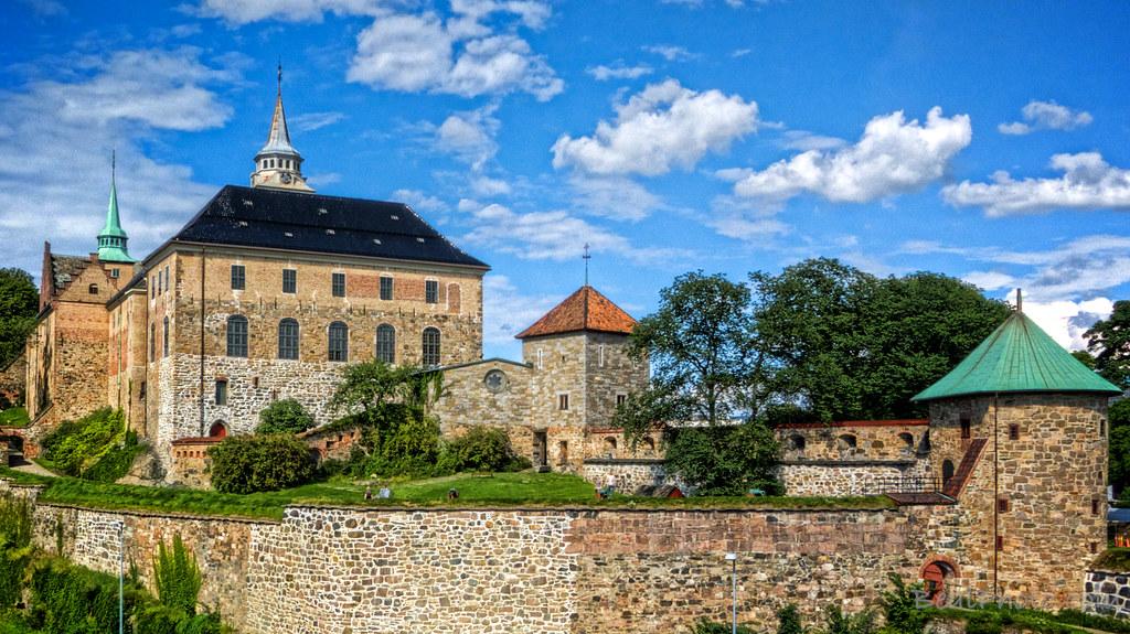 Пес-демон из крепости Акершус в Осло