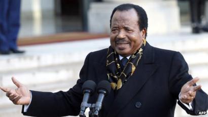 Президент Поль Бийя, Камерун