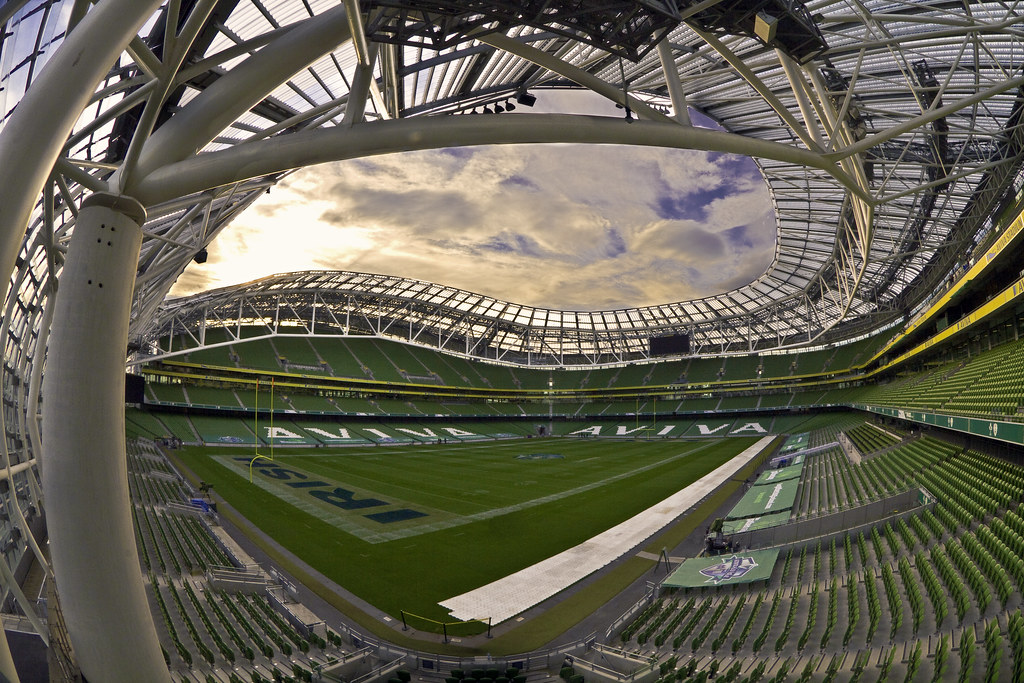 Дублин, стадион Авива (Дублин Арена во время турнира)
