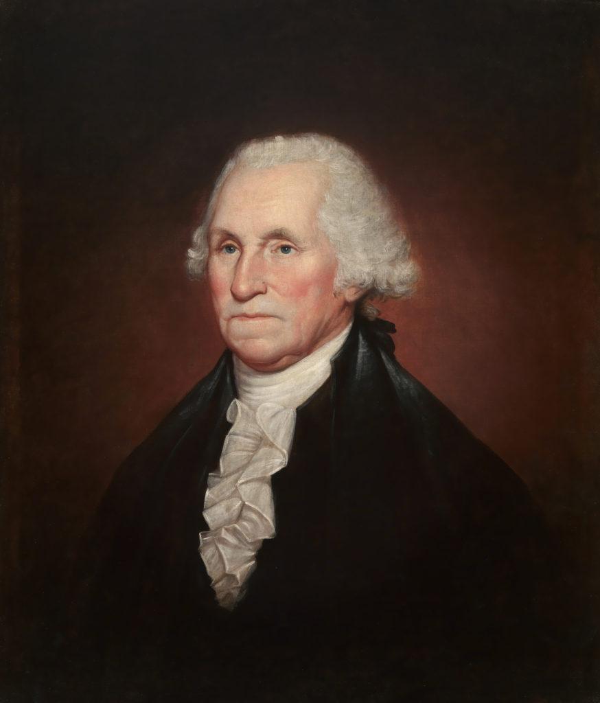 Вашингтон носил парик
