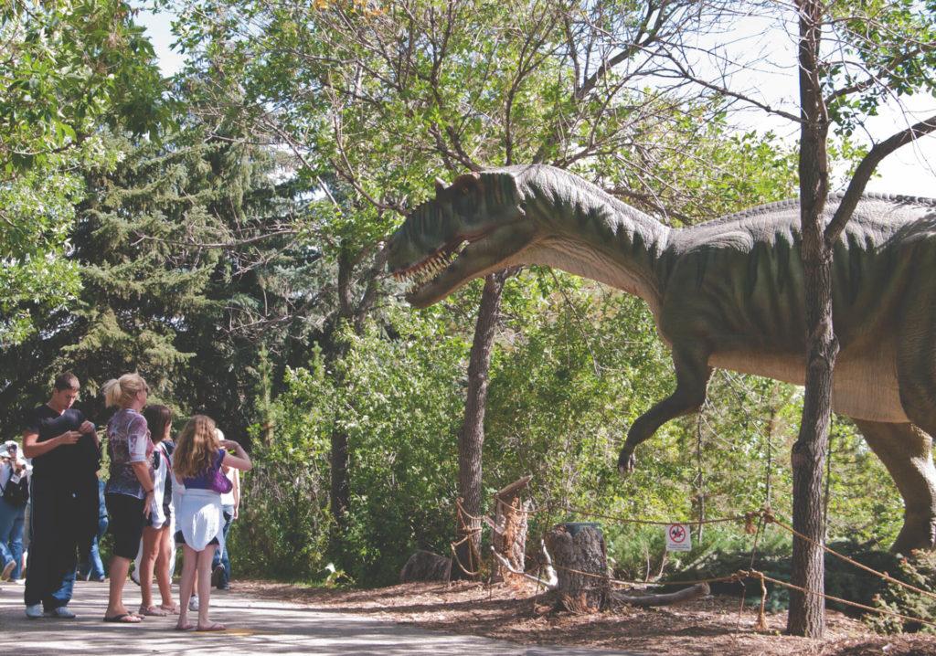Альберта динозавры