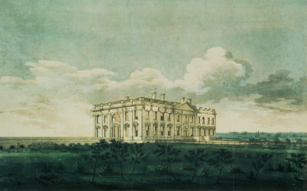 Как Белый дом получил свое название?