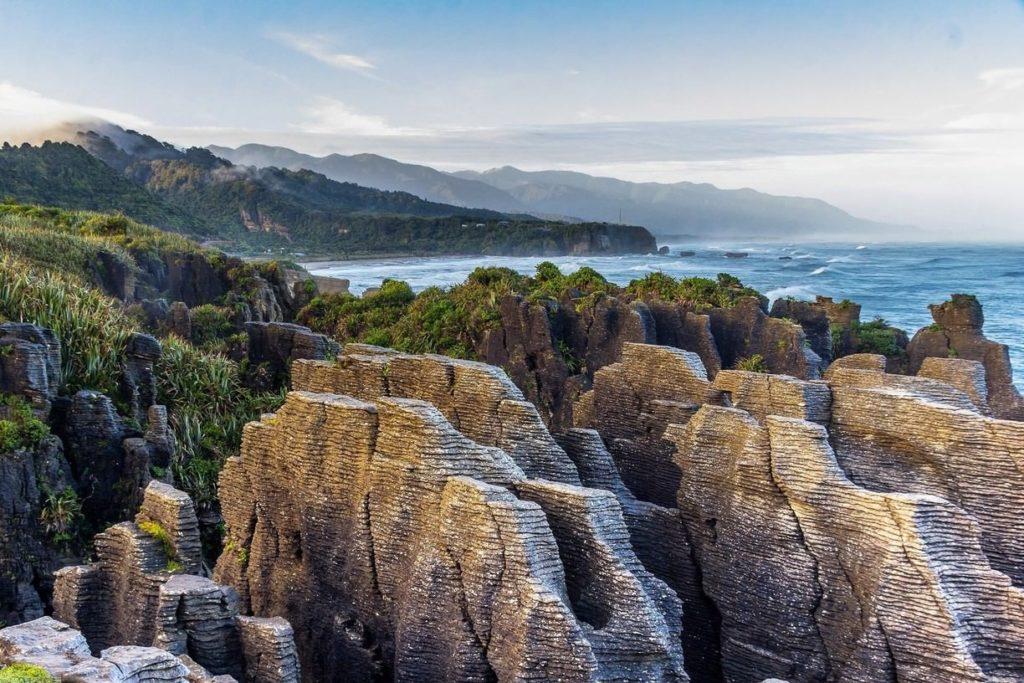 Пунакаики (Блинные Скалы) + Национальный Парк Папароа