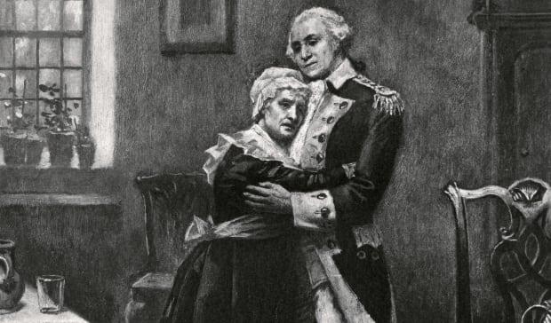 Мать Вашингтона была неграмотна и не любила своего сына