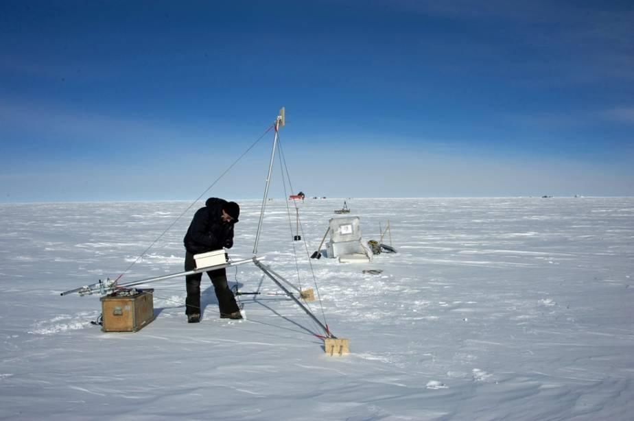 Метеостанция Восток, Антарктида