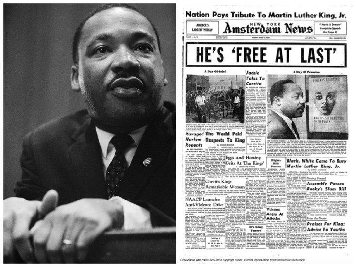 убийство Мартина Лютера Кинга-младшего Оскар