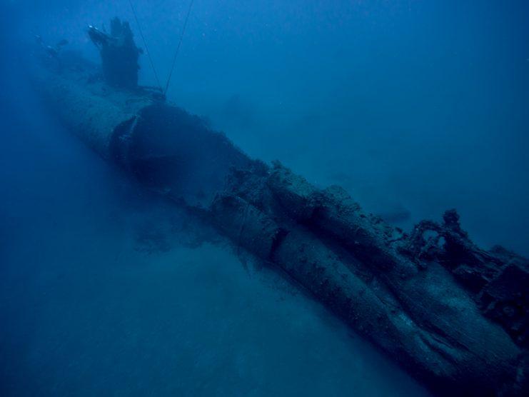 Затонувшая подводная лодка Шире, Хайфа