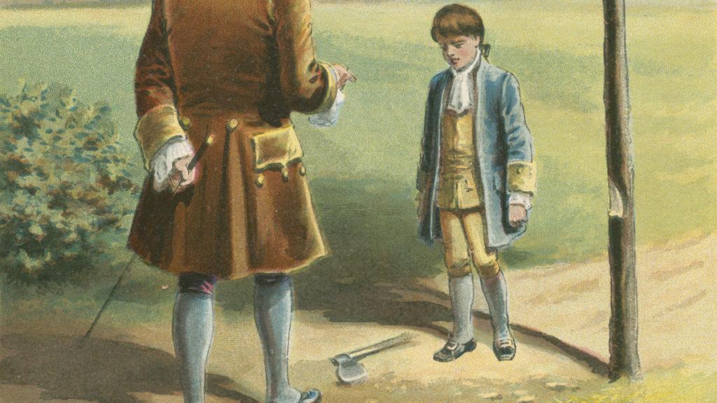 Вашингтон срубил любимую вишню своего отца