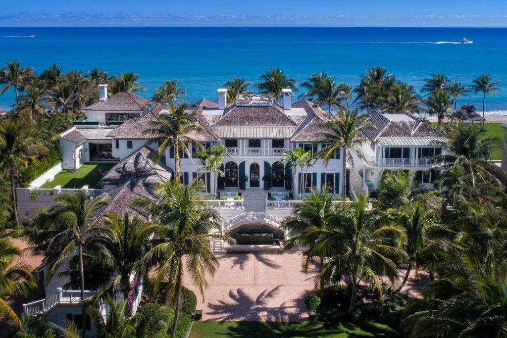 Просторный пляжный дом в Норт-Палм-Бич, штат Флорида за $44,5 млн