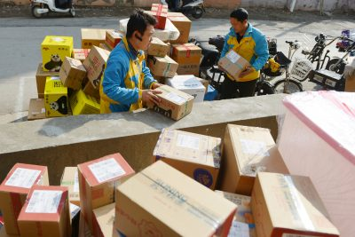 Не безопасно получать посылки из Китая