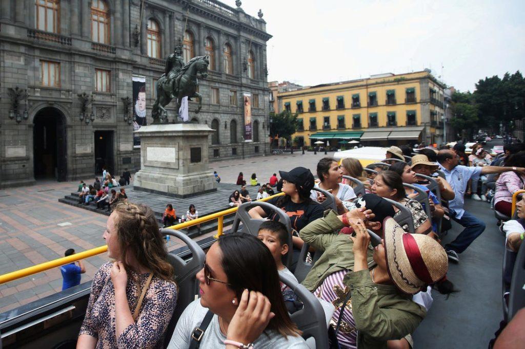 Мексика - это развитое туристическое направление
