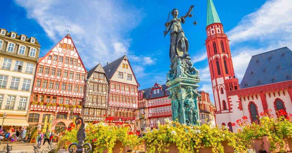 Франкфурт-на-Майне Старый город