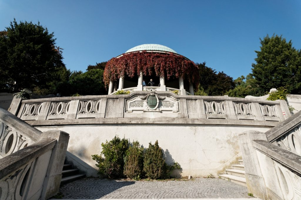 Храм Бетховена, Баден