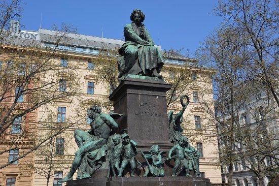 Памятник Бетховену, Вена