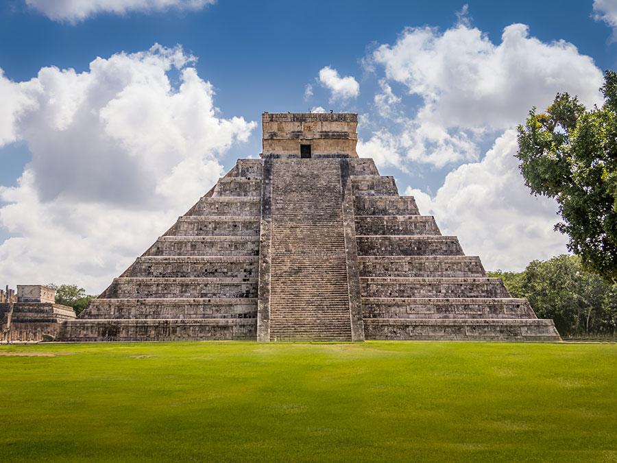 Одно из семи чудес света расположено в Мексике