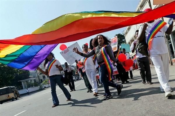 Гомосексуализм запрещен в Шри-Ланке