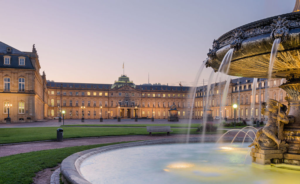 Штутгарт Neues Schloss