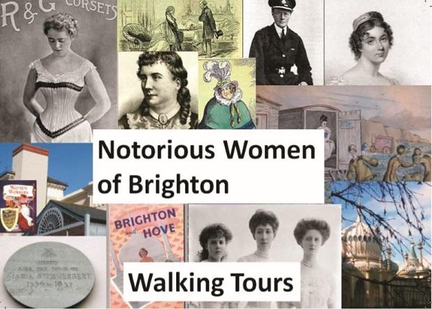 """В экскурсии """"Скандально известные женщины Брайтона"""", рассказывается о людях, которые вышли за пределы пола, класса и обычаев"""