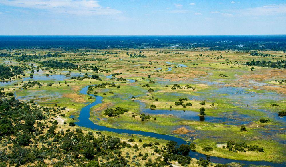 Дельта реки Окаванго, Ботсвана