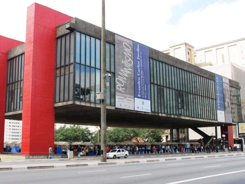 Художественный музей Сан-Паулу (MASP), Бразилия