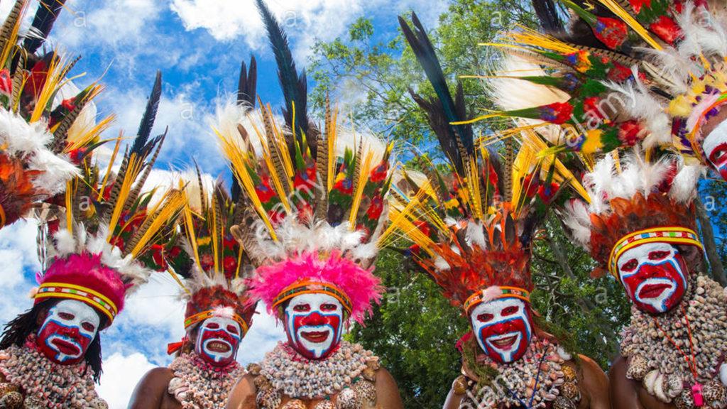 В Папуа-Новой Гвинее насчитывается более 820 языков