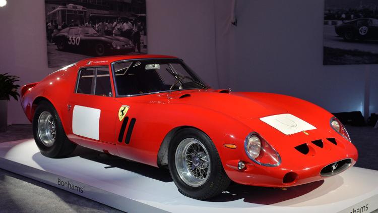 Рекордный аукцион Ferrari в 1962 году