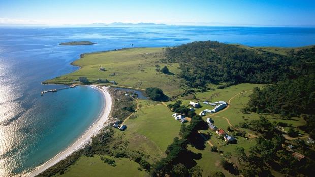 Остров Марайа, Тасмания