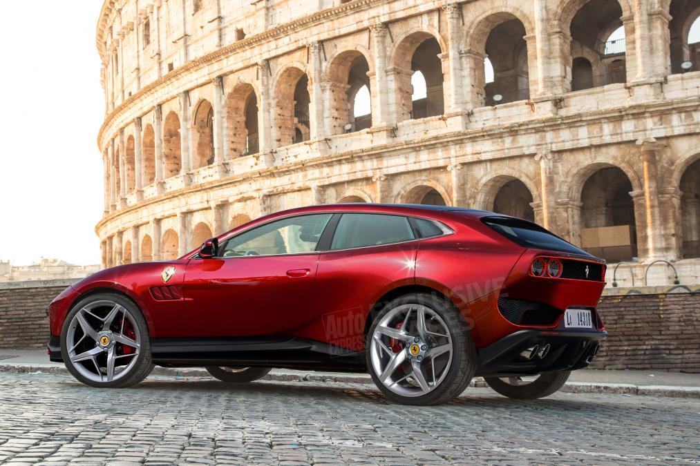 Ferrari никогда не делала внедорожники