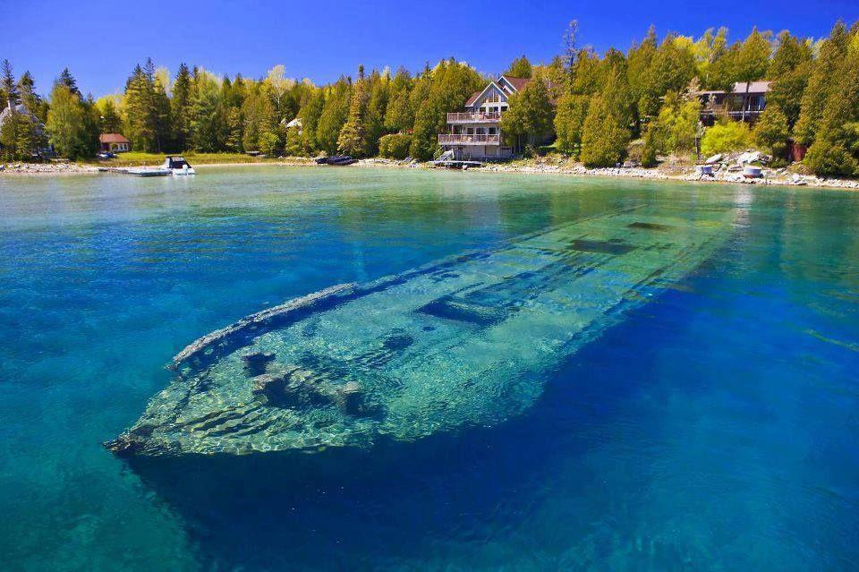 Озеро Гурон, Канада