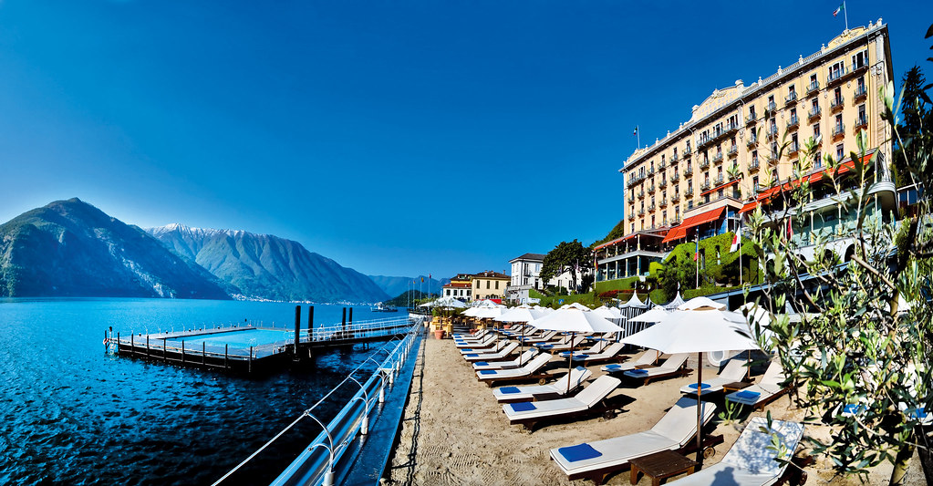Гранд Отель Тремеццо на озере Комо, Италия