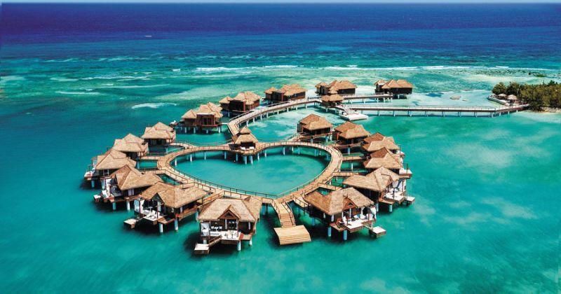 Sandals Resorts - различные места в Карибском море