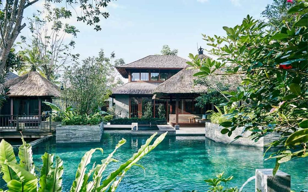 Hoshino Resorts' HOSHINOYA в Бали, Индонезия
